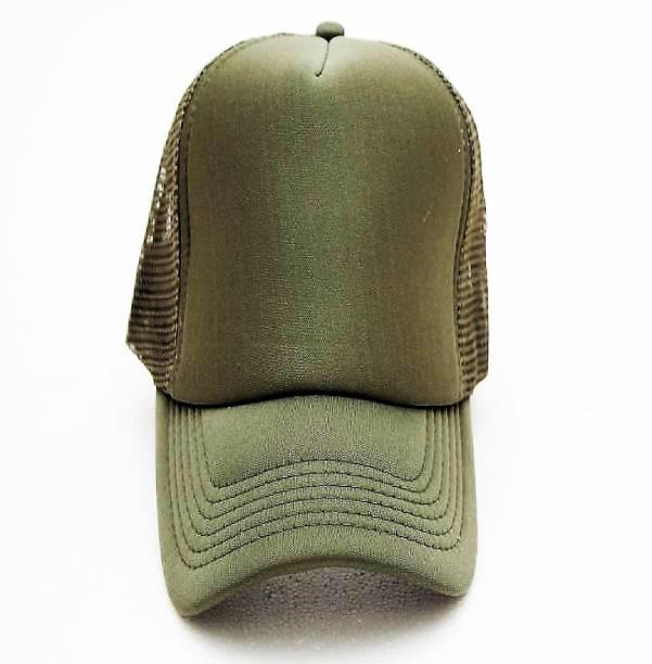 25b624714c9 HANDCUFFS Stylish Baseball Adjustable Green Net Cap For Men Women Cap Cap
