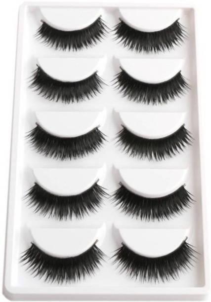 Ni Hao Smoky Soft Natural Black Thick Long False Eyelashes Extension Eye Makeup