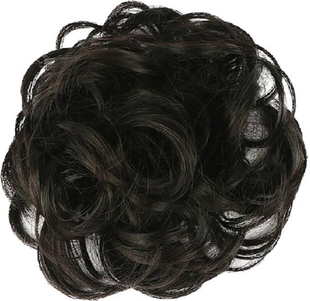 WONDER CHOICE Women Curly Hair Bride Bun Maker Juda, Free Size - Bun