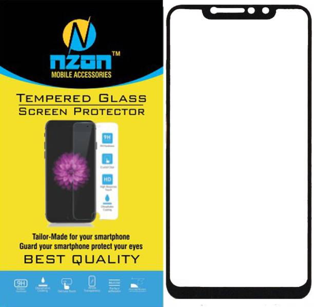 d9565bed2d0 nzon Edge To Edge Tempered Glass for Xiaomi Redmi Note 6 Pro 6D Original  Full Coverage