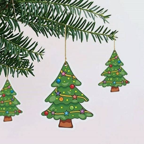 TOYXE Christmas Tree Hanging Ornaments Pack of 10