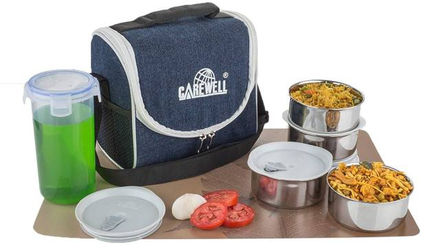 Carewell B Chmp 4 Containers Lunch Box