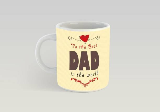 bb474e95820 Insta Design Insta Design To The Best Dad In The World Ceramic Printed  Coffe 330ml Ceramic