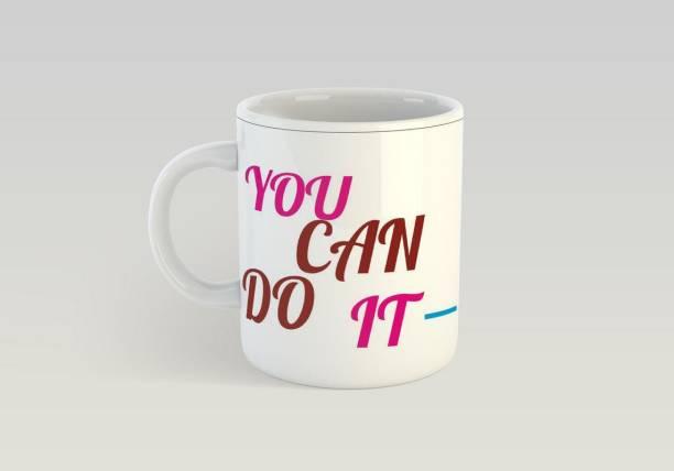 84c3242f205 Insta Design Insta Design You can do it printed coffee mug 330 ml Ceramic  Mug