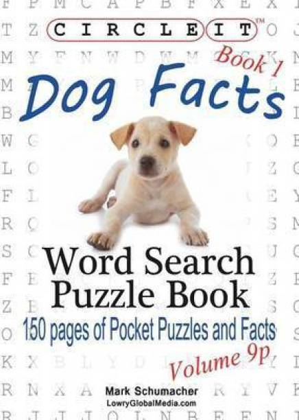 Circle It, Dog Facts, Book 1, Pocket Size, Word Search, Puzzle Book