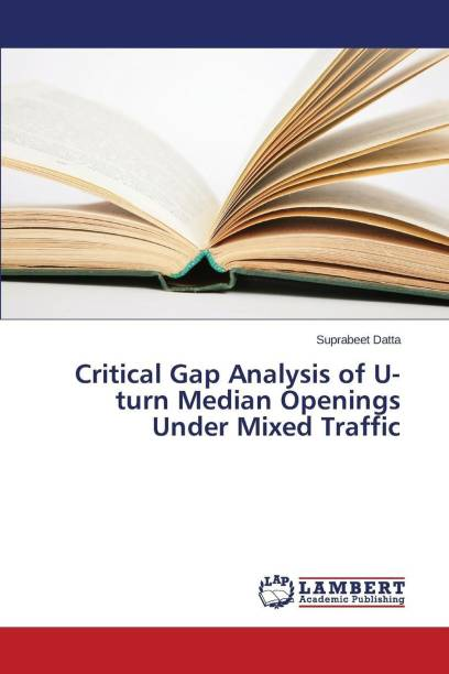 Critical Gap Analysis of U-turn Median Openings Under Mixed Traffic
