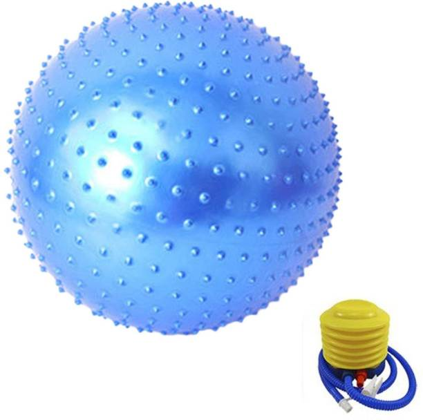 IRIS Fitness Spikes Blue Anti-burst 55 cm Gym Ball