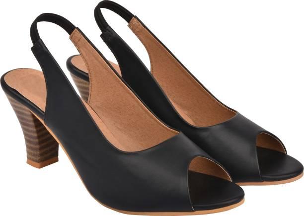 110cca49f3f Black Heels - Buy Black Heels online at Best Prices in India ...