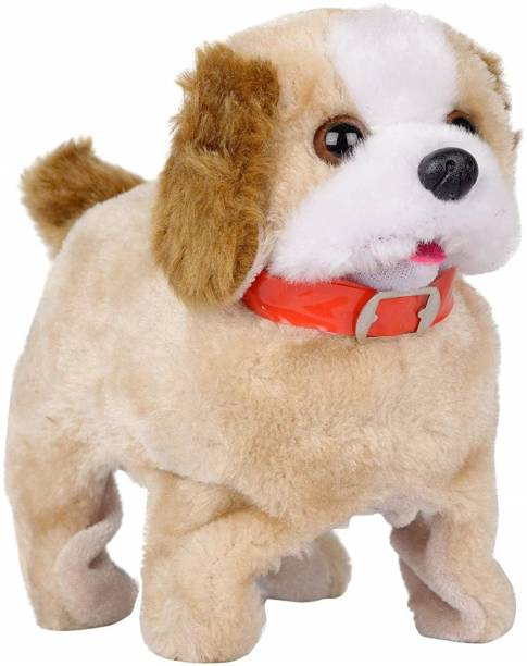 Flabo Fantastic Puppy Battery Operated Jumping Dog Run Jump Toy Game for Kids Hand Puppets