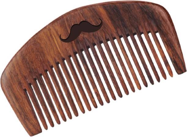 Men Deserve Sheesham Wooden Beard Comb (Hand Made)
