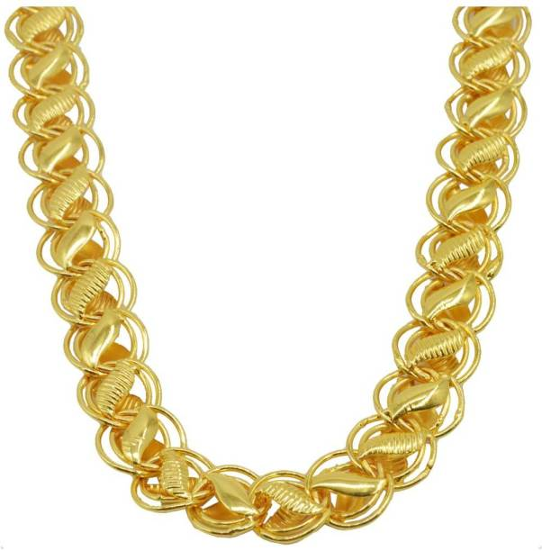Jewelry & Watches Durable Modeling Vintage 22k Yellow Gold Handmade Chain Necklace Curb Link Chain Select Size