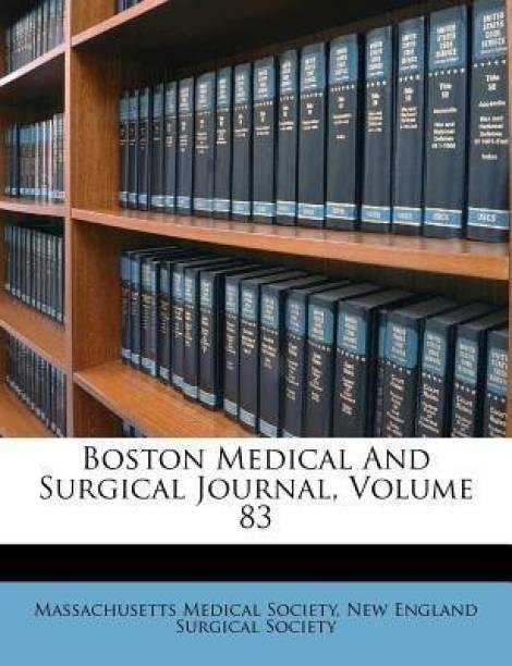Society Massachusetts Medical Books - Buy Society Massachusetts