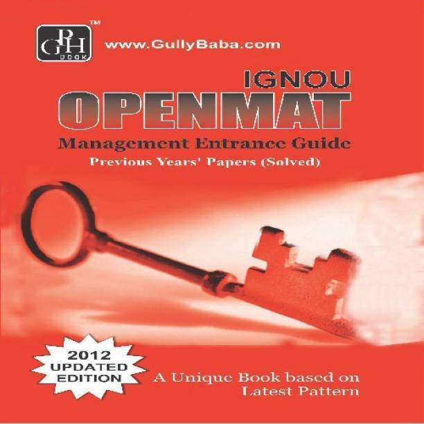 MBA Entrance Guide Book (IGNOU Help book for MBA Entrance Guide Book in English Medium)