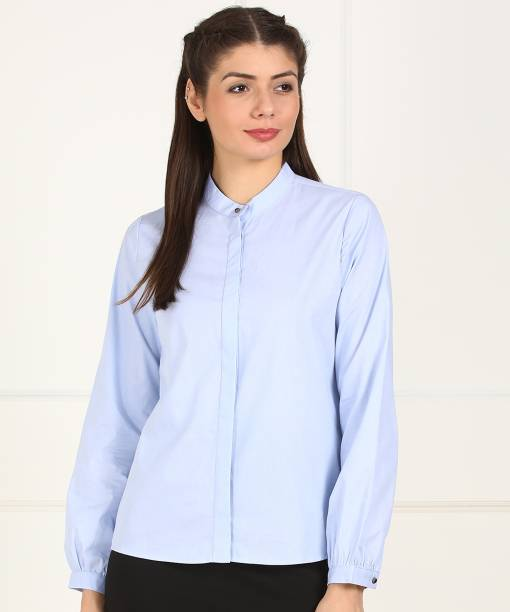 5d0bf8c39a2 Women s Shirts Online at Best Prices In India