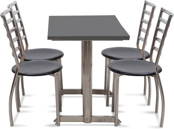 Saakshi enterprises Metal 4 Seater Dining Set