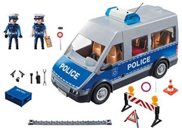 Playmobil Policemen with Van