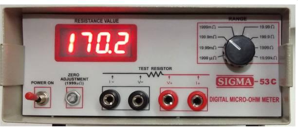 SIGMA 53 C Digital Micro Ohm Meter SIGMA 53C Digital Micro Ohm Meter Non-magnetic Electronic Level
