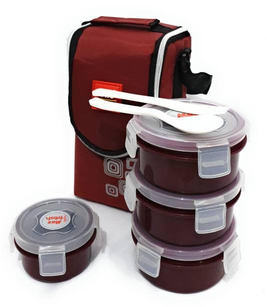 cello Click4Plastic 4 Containers Lunch Box