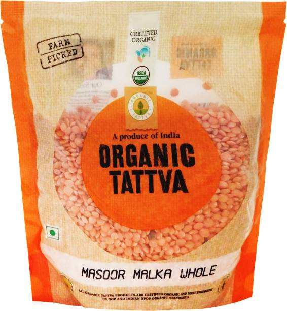 Organic Tattva Masoor Dal (Whole)
