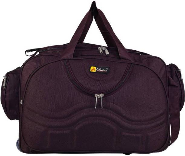 fc725c9d94e4 N Choice (Expandable) Travel Duffel bags for men and women Duffel Strolley  Bag