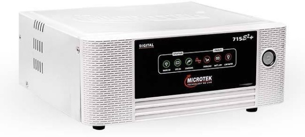 Microtek Digital UPS E+ 715VA Square Wave Inverter (White)