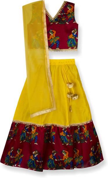 3fb41d925de Crop Top North South Indian Lehenga Cholis - Buy Crop Top North ...
