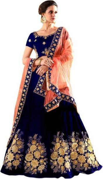fb52b63635 Blue Lehenga Cholis - Buy Blue Lehenga Cholis Online at Best Prices ...