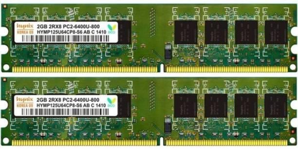 Hynix ddr2 DDR2 2 GB (Dual Channel) PC (2gb ddr2 destop)
