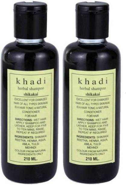 Khadi Herbal Shikakai Shampoo - 420ML