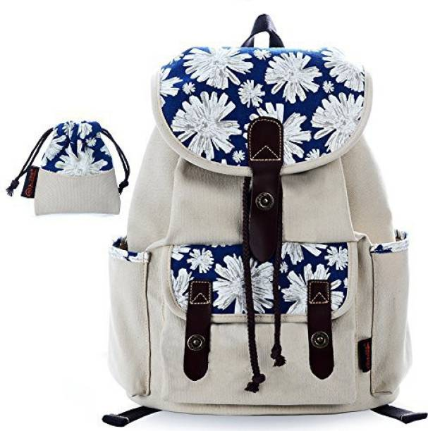 1047ad695b C Leathers -LEATHERS Print anvas Backpack for Girls School Backpack Laptop  Backpack Print Backpack 137White