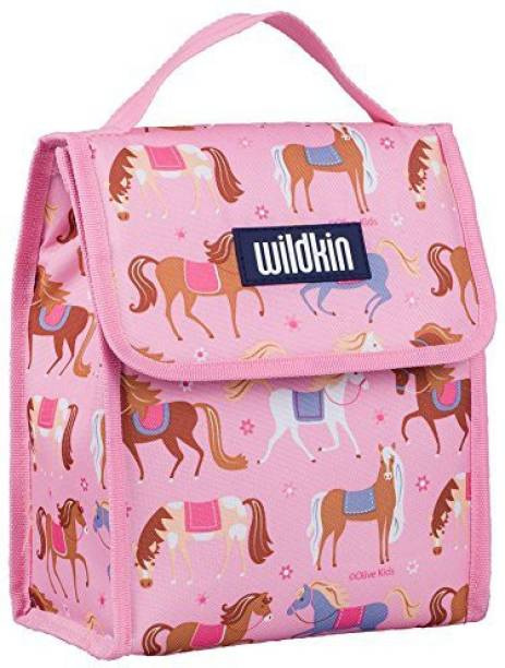 Wildkin Insulated Lunch Box Sleeve - Securely Cover Your Bento Box -  Turquoise Waterproof Lunch Bag 2a087661e302e
