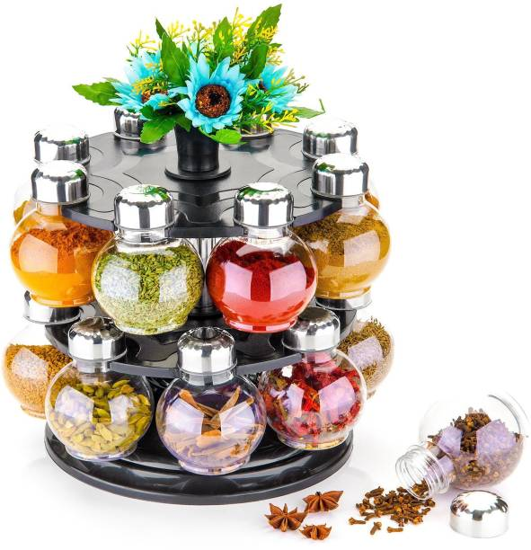 Cronus Masala Box, Spice Box, Masala Rack, Spice Rack, Spice Jar, Condiment Set, Spice Container, Condiments Set, Modular Kitchen, Spice Boxes, Kitchen Rack 1 Piece Spice Set