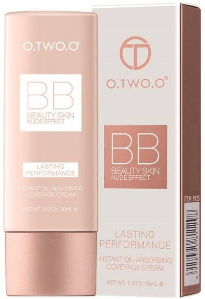 O.TWO.O 9125-NC24 (Natural) : Waterproof Perfect Full Cover BB Cream - Nude Perfect, Lasting Performance Foundation