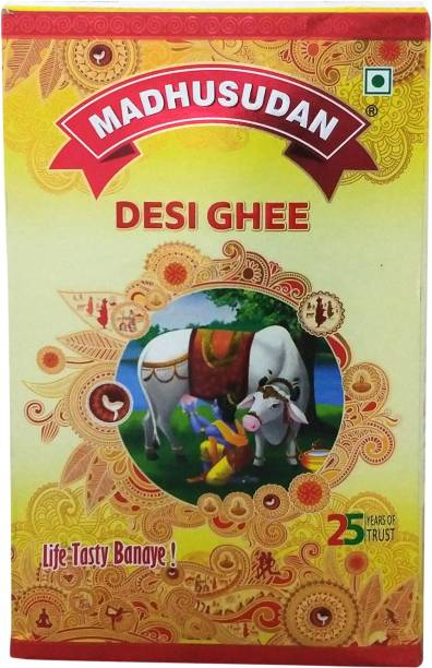Madhusudan Desi Ghee 1 L Carton