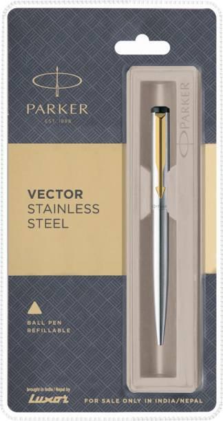 PARKER Vector Stainless Steel GT Ball Pen