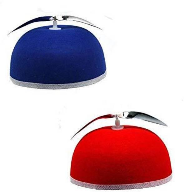 bf4ad1da9d9 Forum Novelties 21106 Hat-Propeller Beanie Accessory (Red Or Blue Assorted)