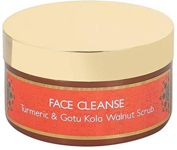 NeoVeda Face Cleanse Turmeric, Gotu Kola & Walnut  Scrub