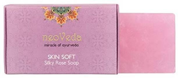 NeoVeda Skin Soft Silky Rose Soap