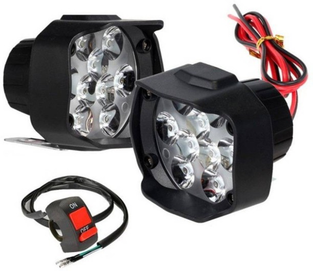 Auto Hub LED Fog Light For Universal For Bike Universal For Bike