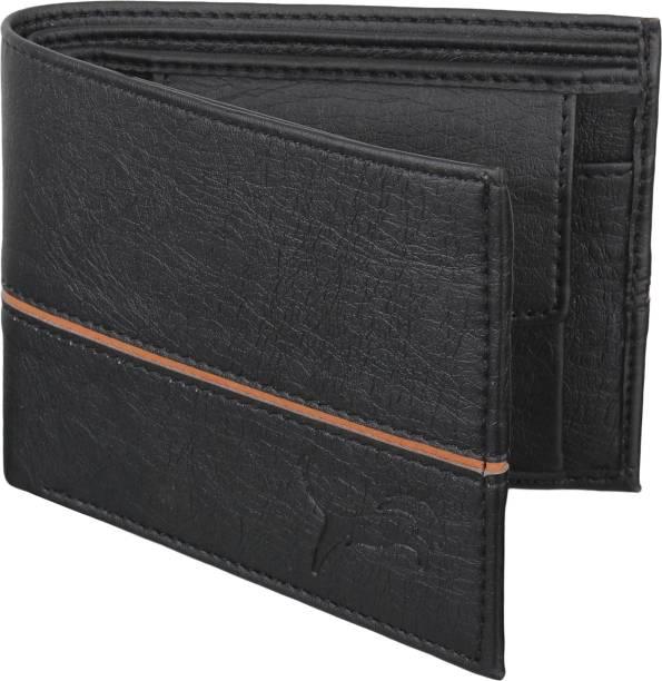Wildedge Men Casual Black Artificial Leather Wallet