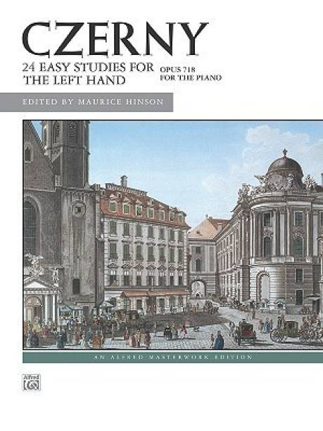 Twenty Four Easy Studies for the Left Hand Op.718