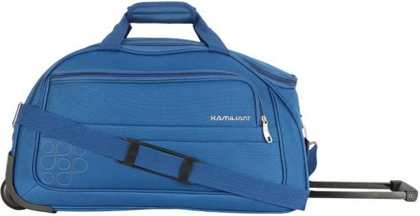 303134e09b2b19 Kamiliant by American Tourister GAHO WHEEL DUFFLE 52 cm -TEAL BLUE Duffel  Strolley Bag