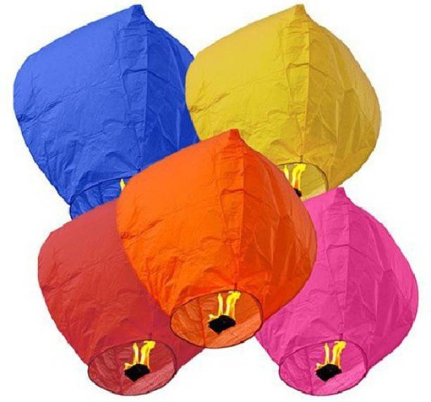 Laughters Multicolor Paper Sky Lantern