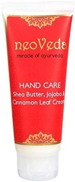 NeoVeda Hand Care Shea Butter Jojoba & Cinnamon Leaf Cream