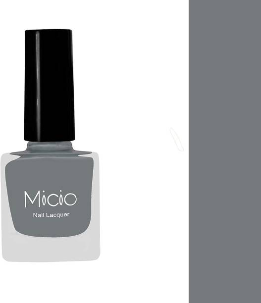 MICIO Luxurious Collection of Glossy Nail Lacquer Ash Grey
