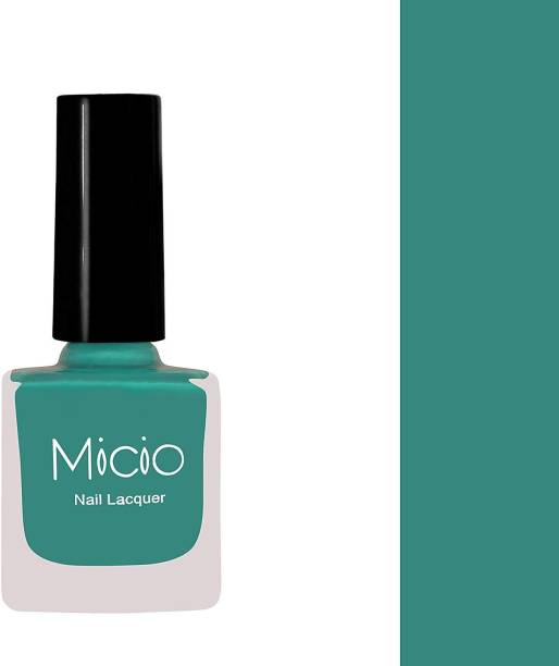 MICIO Luxurious Collection of Glossy Nail Lacquer Typical Teal