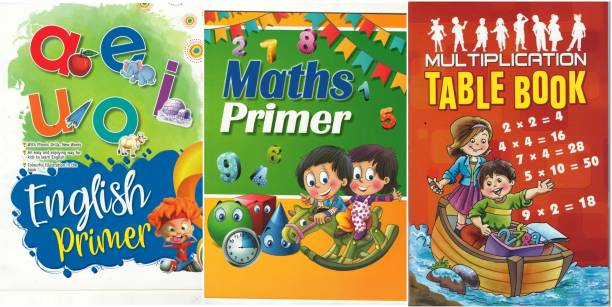 English And Maths Book With Table Book(3 Books)