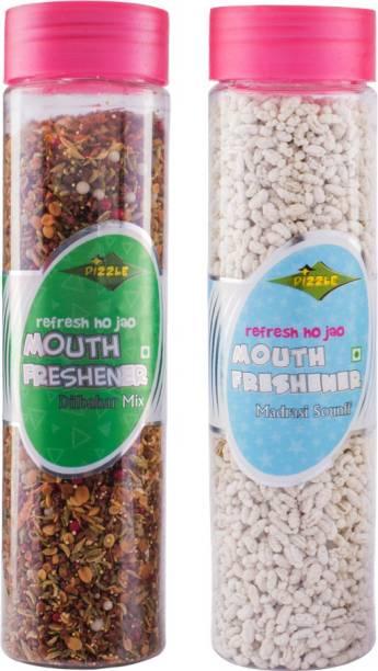 DIZZLE DIlbahar Mix & Madrasi Sonff Pan, Musk Mouth Freshener