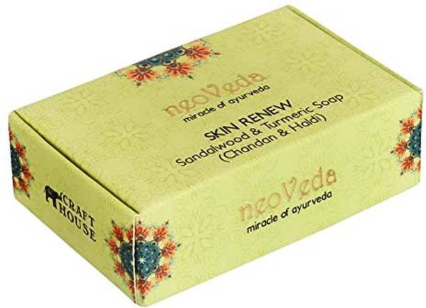 NeoVeda Skin Renew Sandalwood & Turmeric Soap