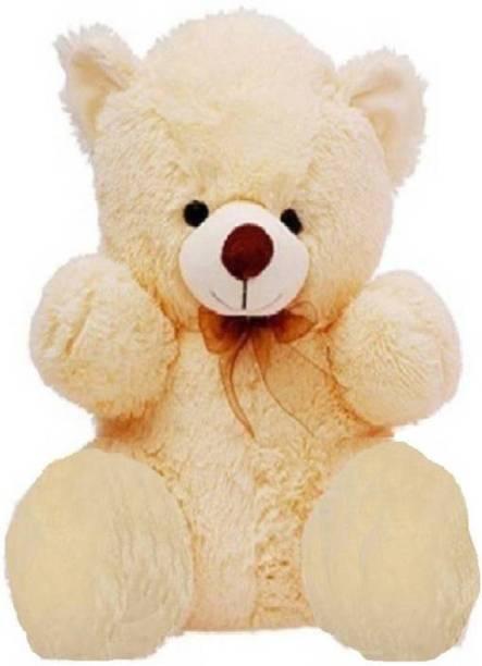 KIDZ Zone 3Feet Sitting Soft Hugable Teddy Bear for Gift  - 14 cm